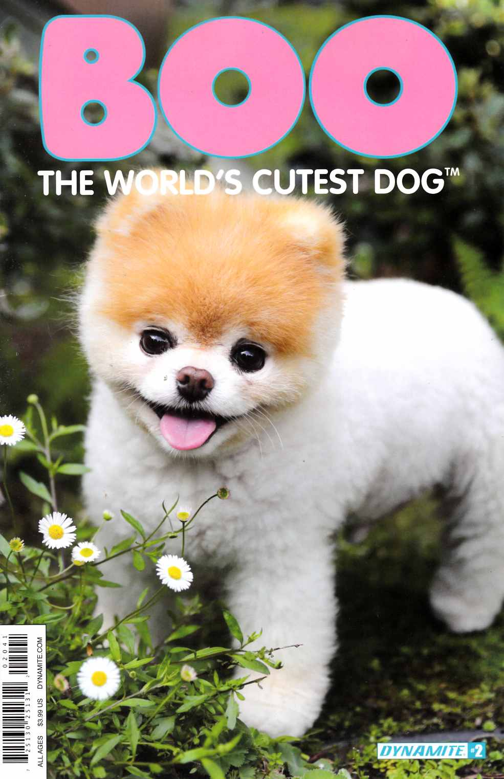 Boo Worlds Cutest Dog #2 Cover D [Dynamite Comic] THUMBNAIL
