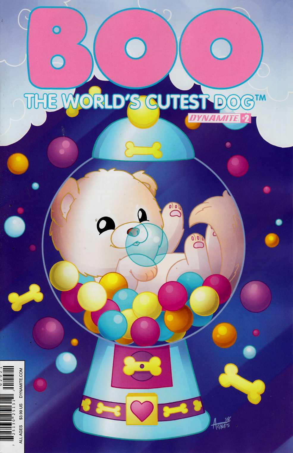 Boo Worlds Cutest Dog #2 Cover B [Dynamite Comic] THUMBNAIL