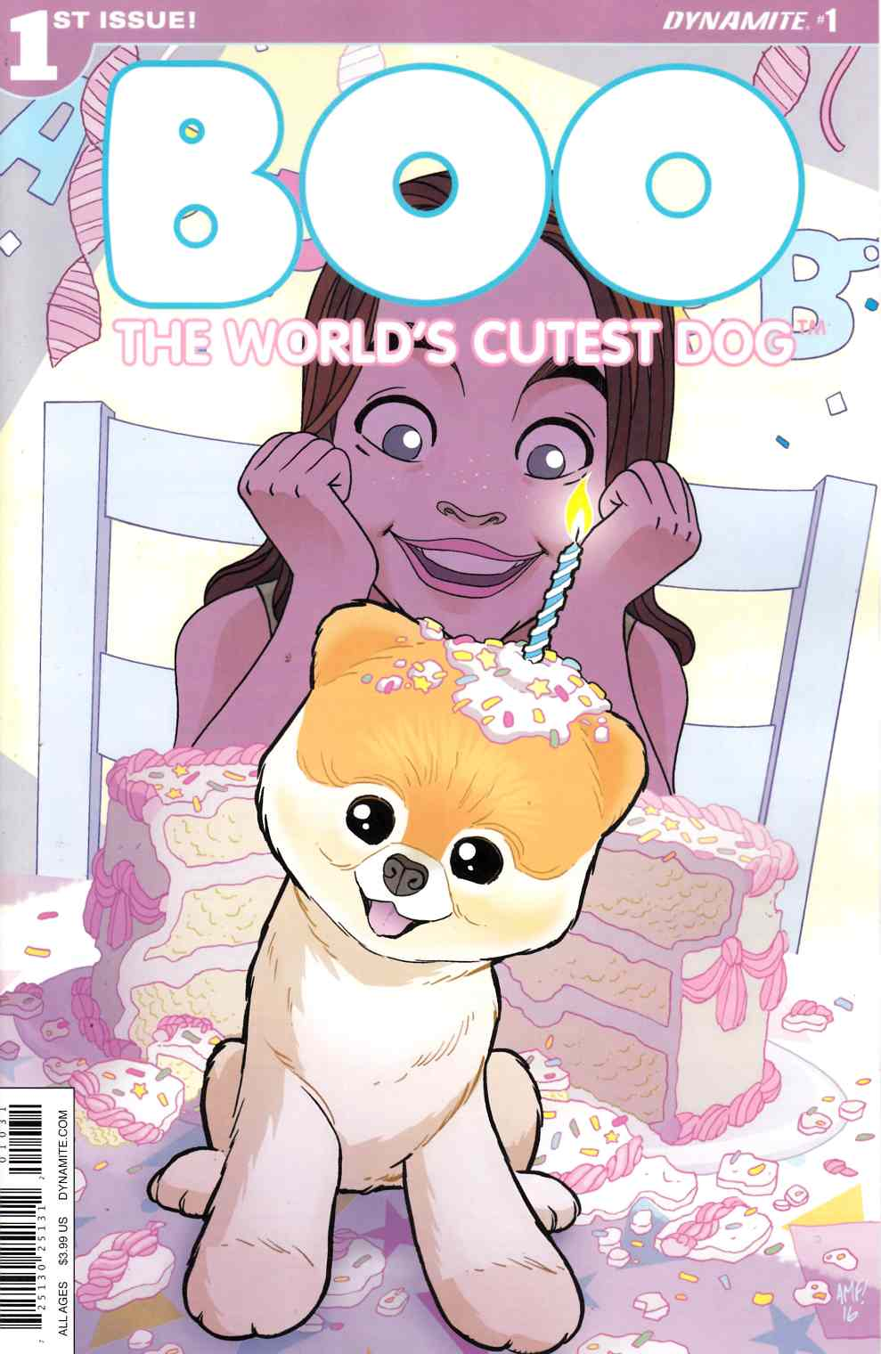 Boo Worlds Cutest Dog #1 Cover C- Fleecs [Dynamite Comic] THUMBNAIL