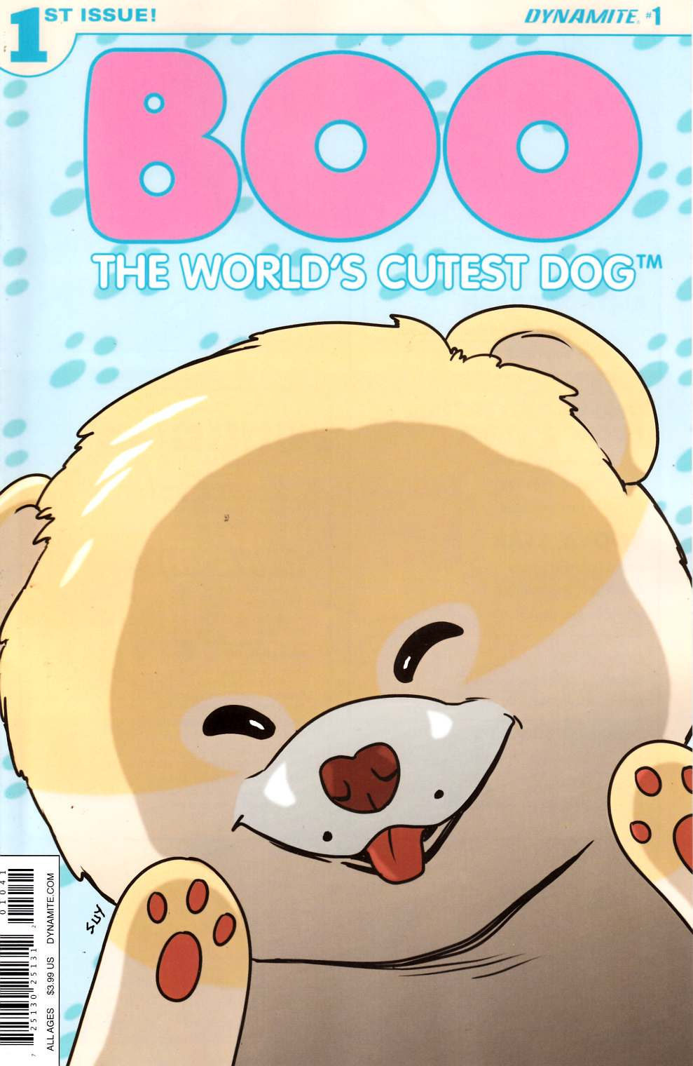 Boo Worlds Cutest Dog #1 Cover D- Uy [Dynamite Comic] THUMBNAIL