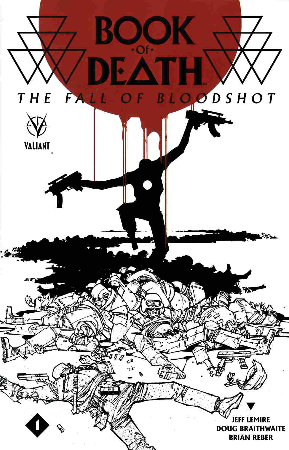Book of Death Fall of Bloodshot #1 Cover B- Palo [Valiant Comic]_THUMBNAIL