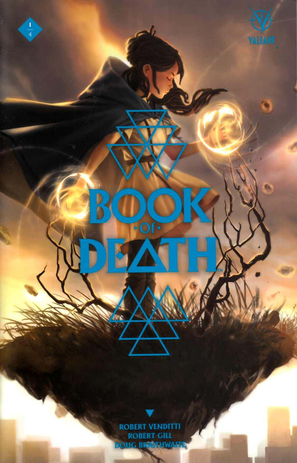 Book of Death #1 Cover D- Kevic-Djurdjevic [Valiant Comic] THUMBNAIL