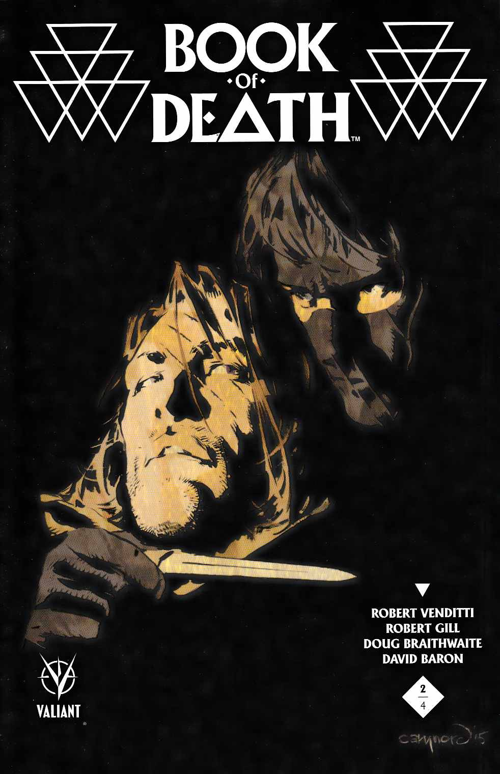 Book of Death #2 Cover A- Nord [Valiant Comic] THUMBNAIL
