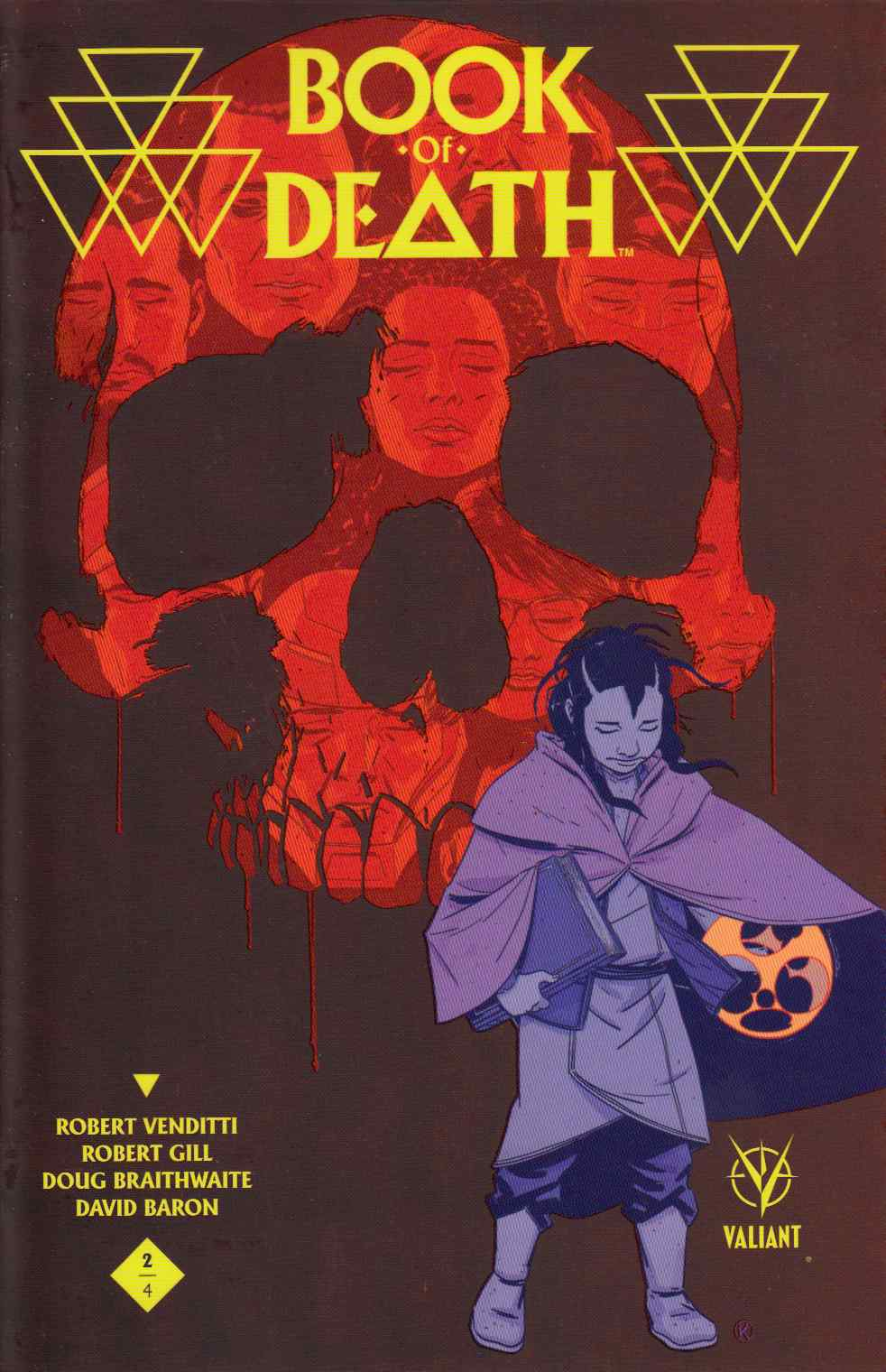 Book of Death #2 Cover C- Kano [Valiant Comic] THUMBNAIL