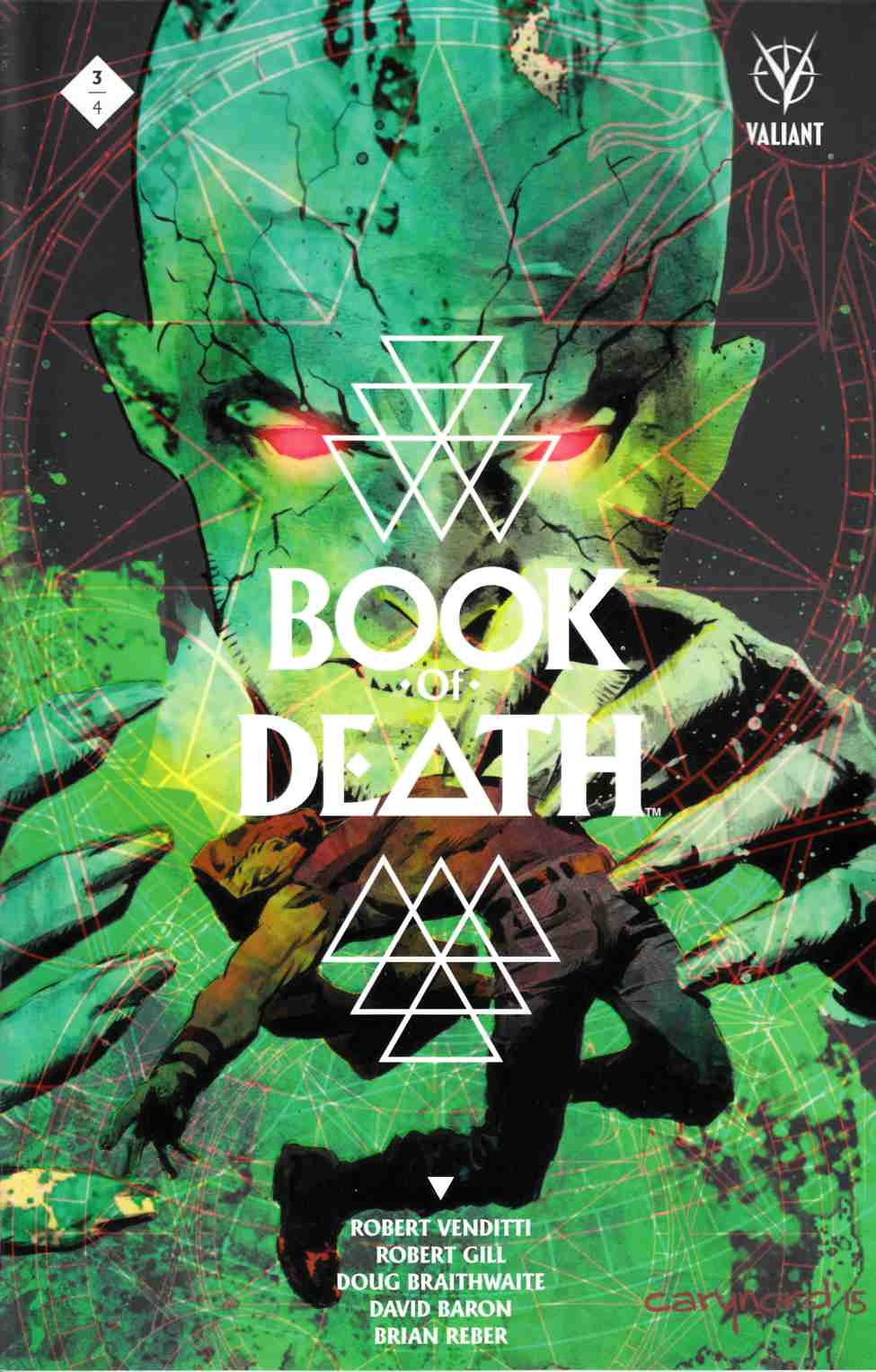 Book of Death #3 Cover A- Nord [Valiant Comic] THUMBNAIL