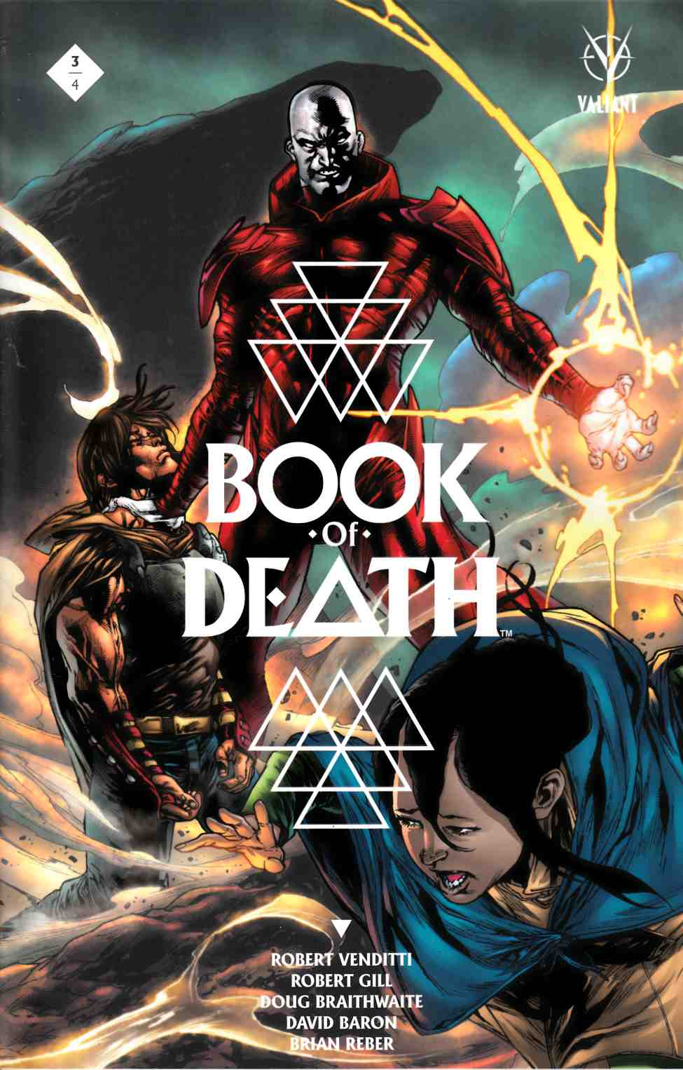 Book of Death #3 Cover C- Segovia [Valiant Comic] THUMBNAIL