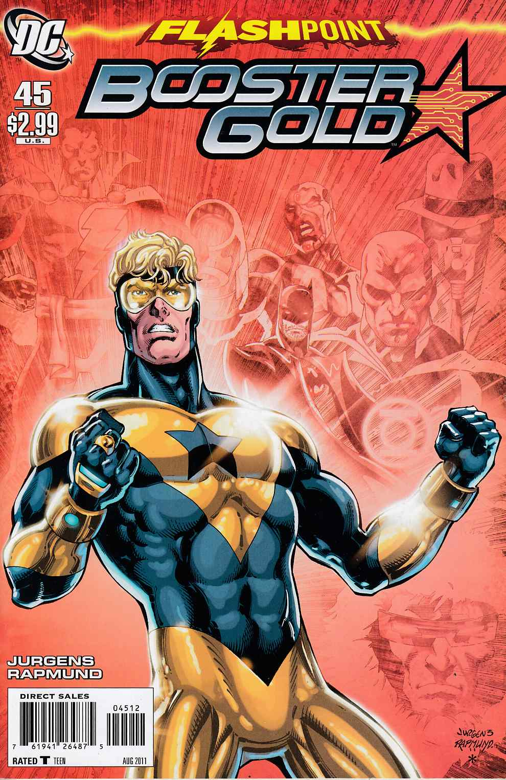 Booster Gold #45 Second Printing Very Fine (8.0) [DC Comic] THUMBNAIL