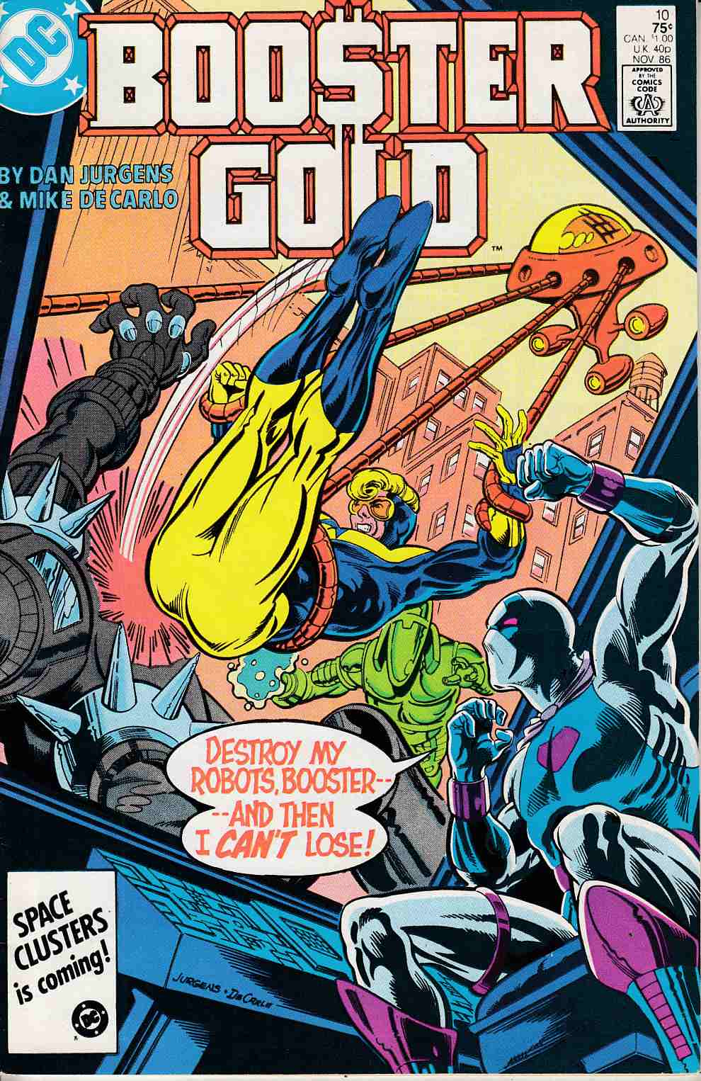 Booster Gold #10 Very Fine (8.0) [DC Comic]_LARGE