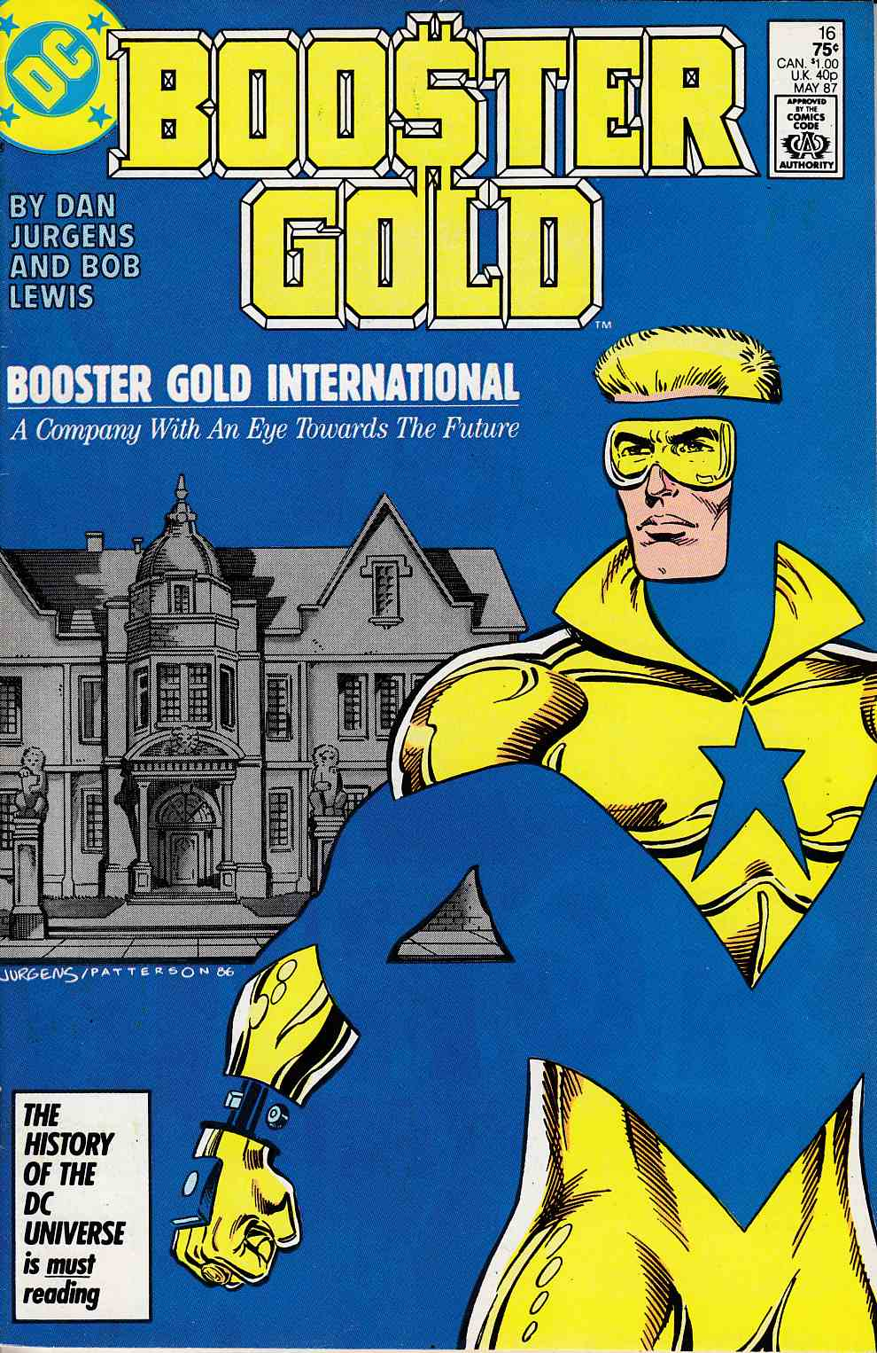 Booster Gold #16 Very Fine (8.0) [DC Comic] LARGE
