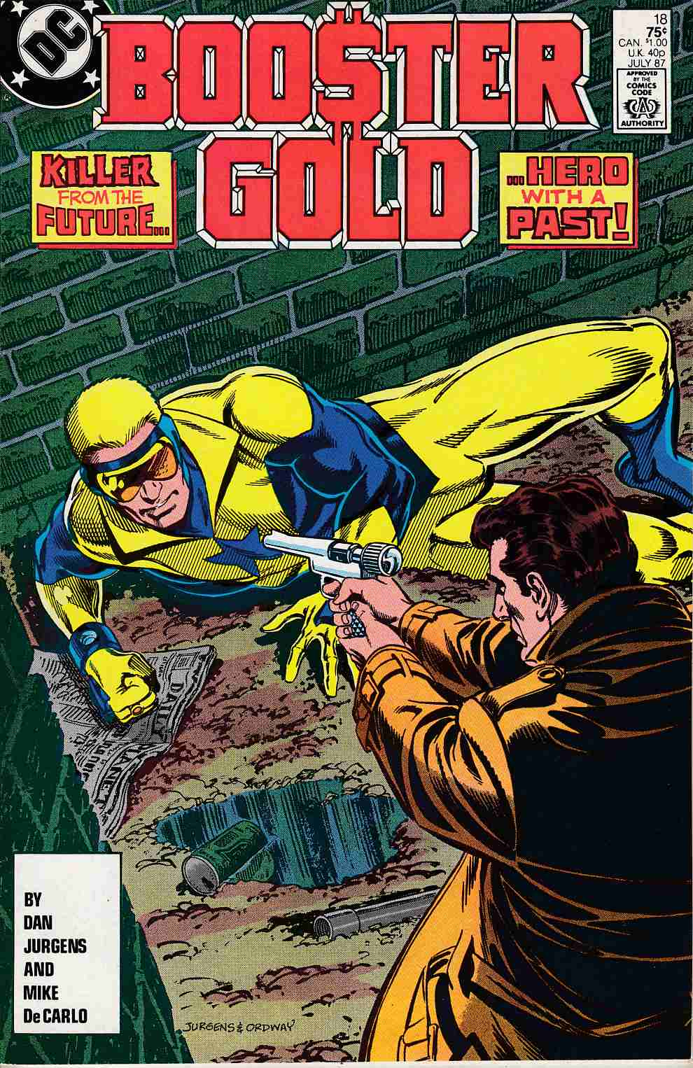 Booster Gold #18 Near MInt (9.4) [DC Comic]_LARGE