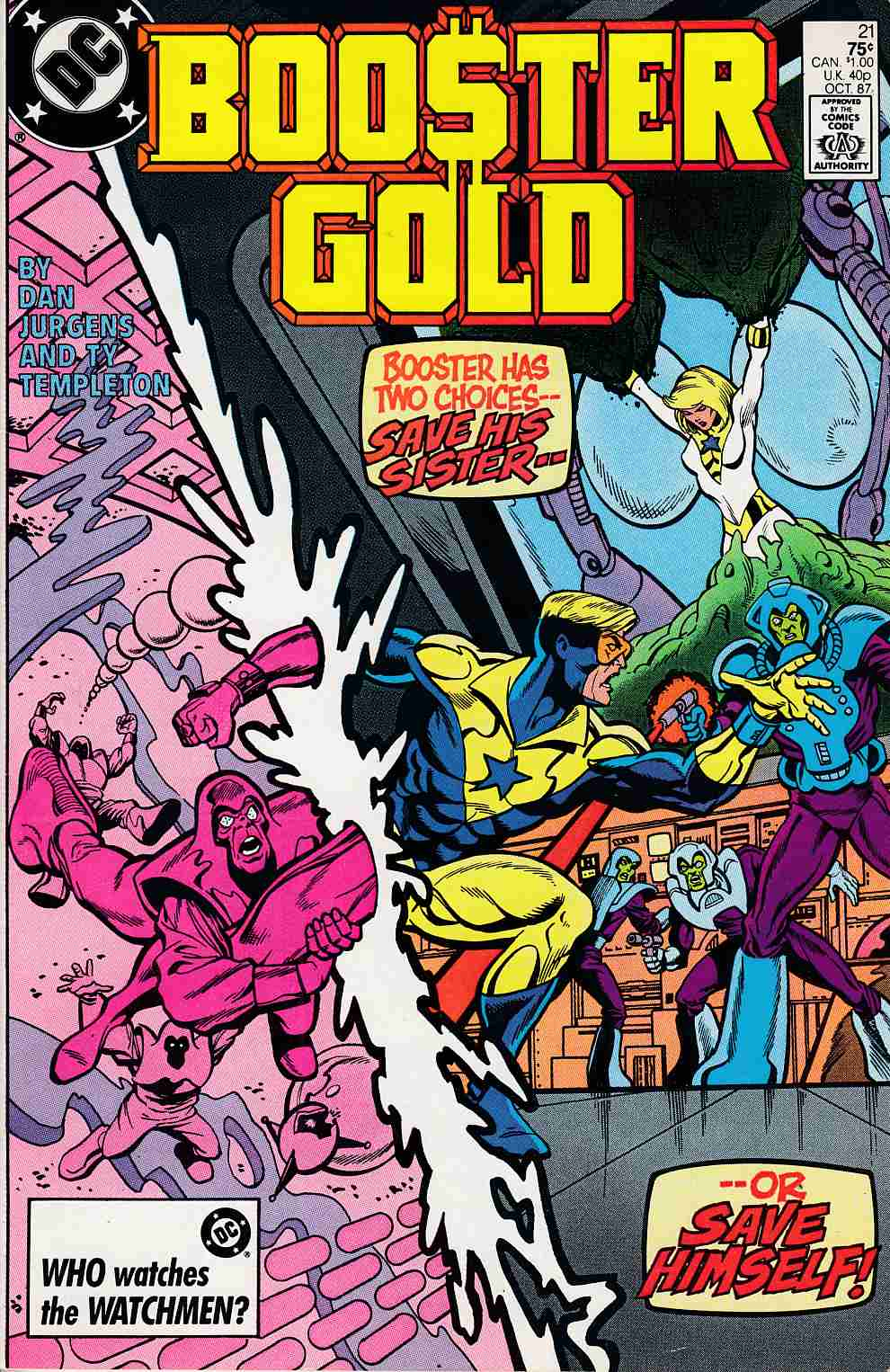 Booster Gold #21 Very Fine (8.0) [DC Comic]_LARGE