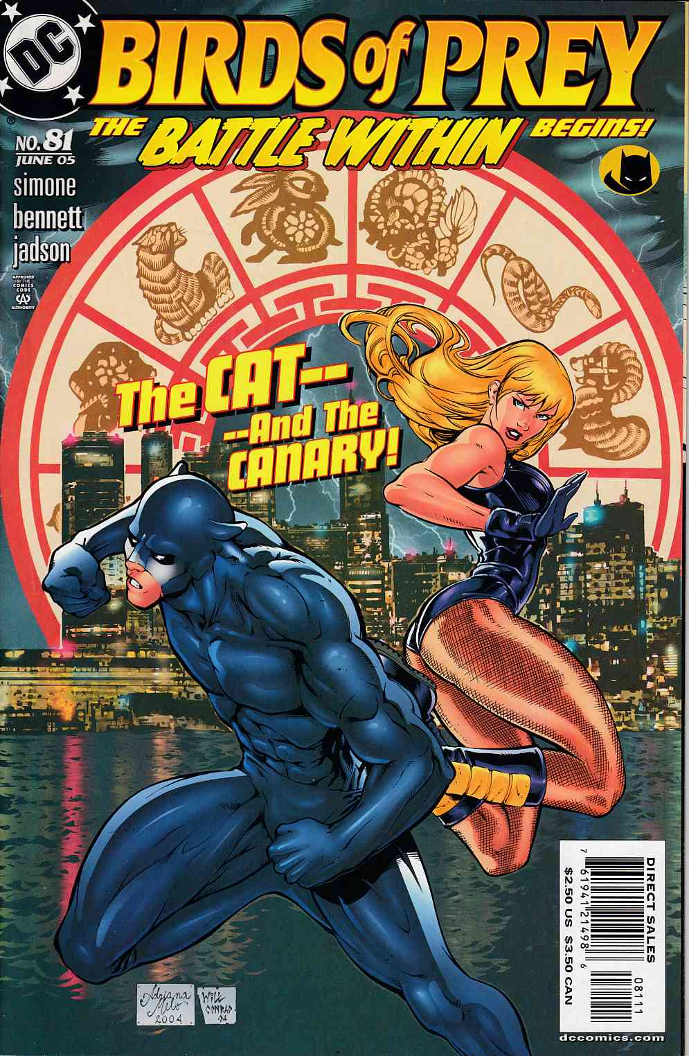 Birds Of Prey 81 Very Fine 8 0 Dc Comic Dreamlandcomics Com Online Store