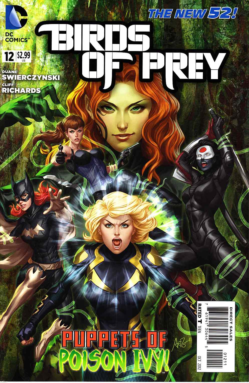 Birds of Prey #12 [DC Comic] THUMBNAIL