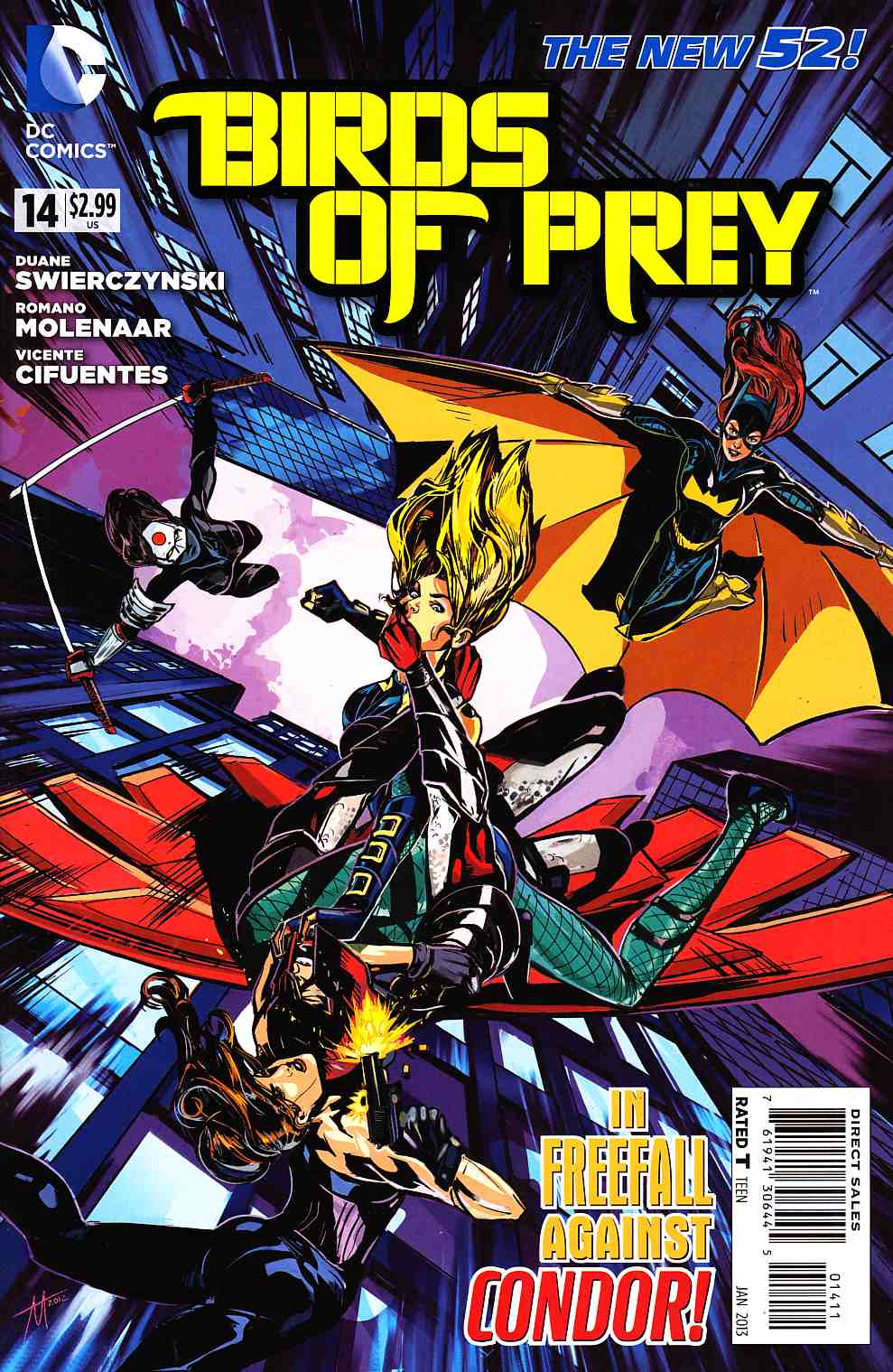 Birds of Prey #14 [DC Comic] THUMBNAIL