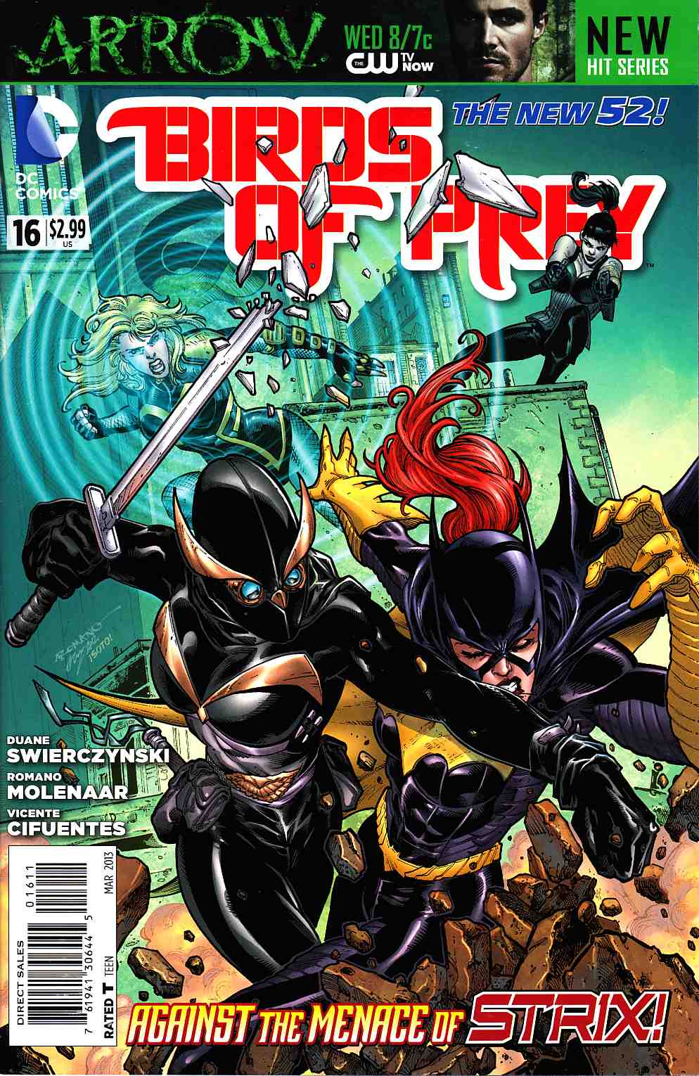 Birds of Prey #16 [DC Comic] THUMBNAIL