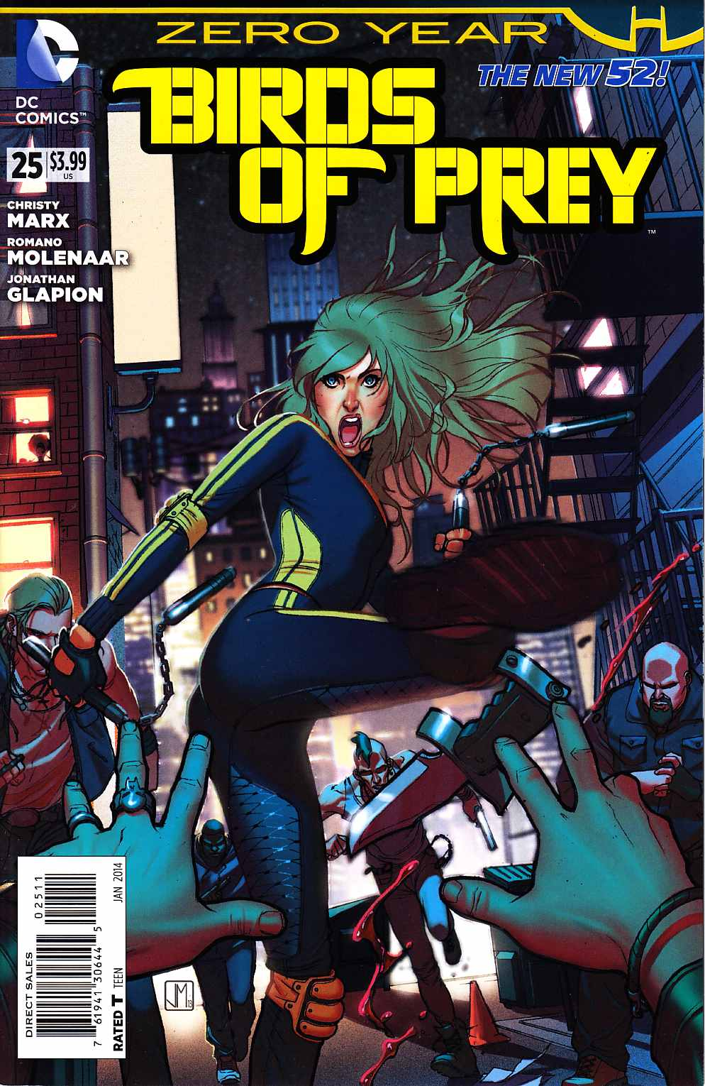 Birds of Prey #25 (Zero Year) [DC Comic] THUMBNAIL