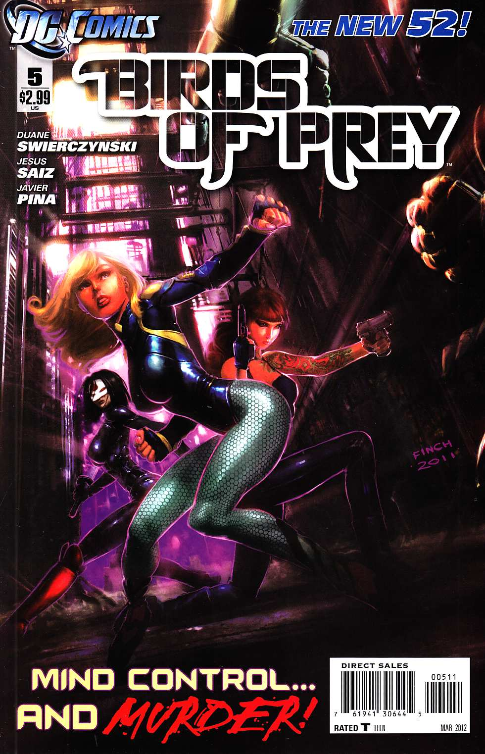Birds Of Prey #5 [DC Comic] THUMBNAIL