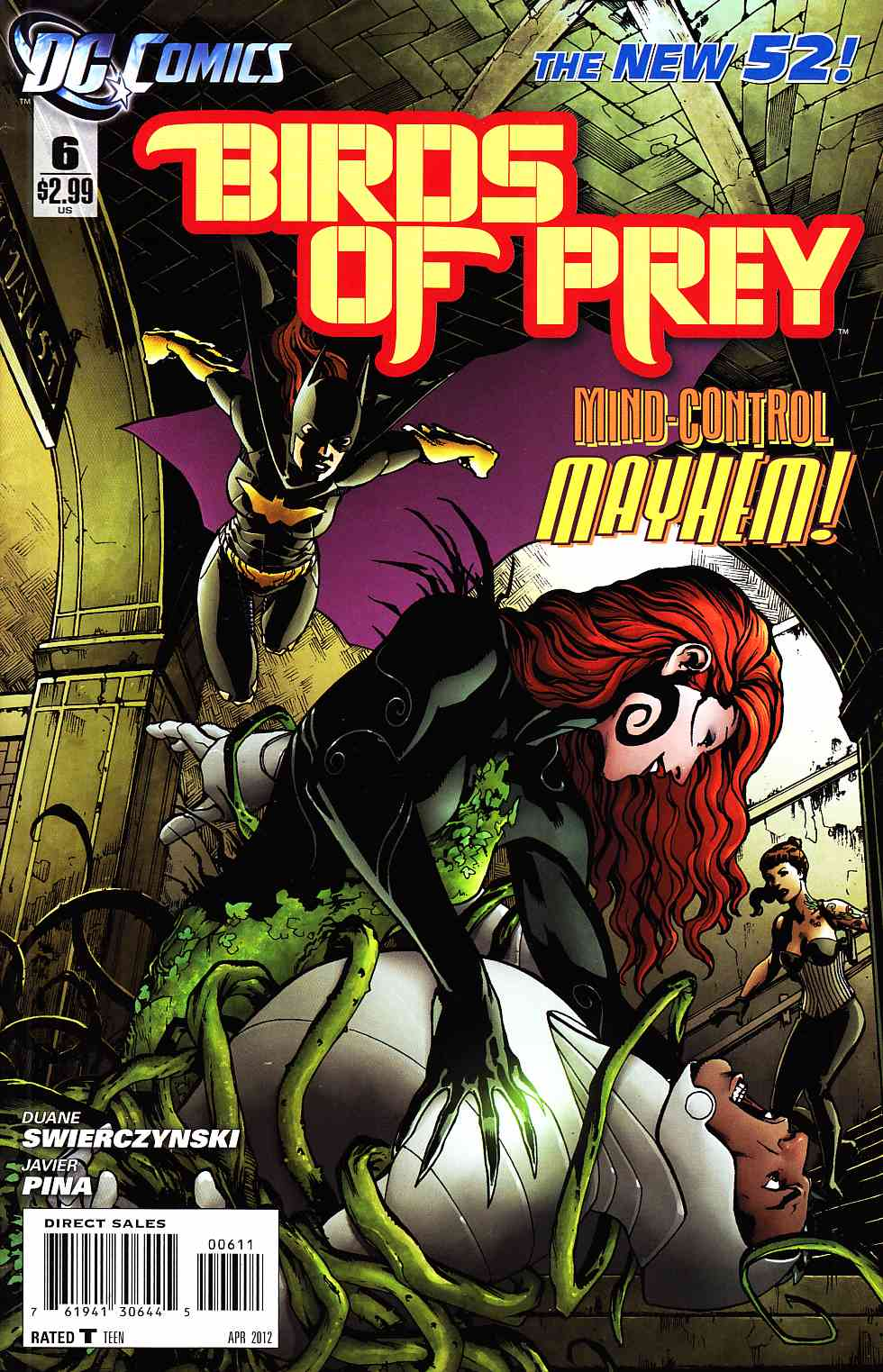 Birds Of Prey #6 [DC Comic] THUMBNAIL