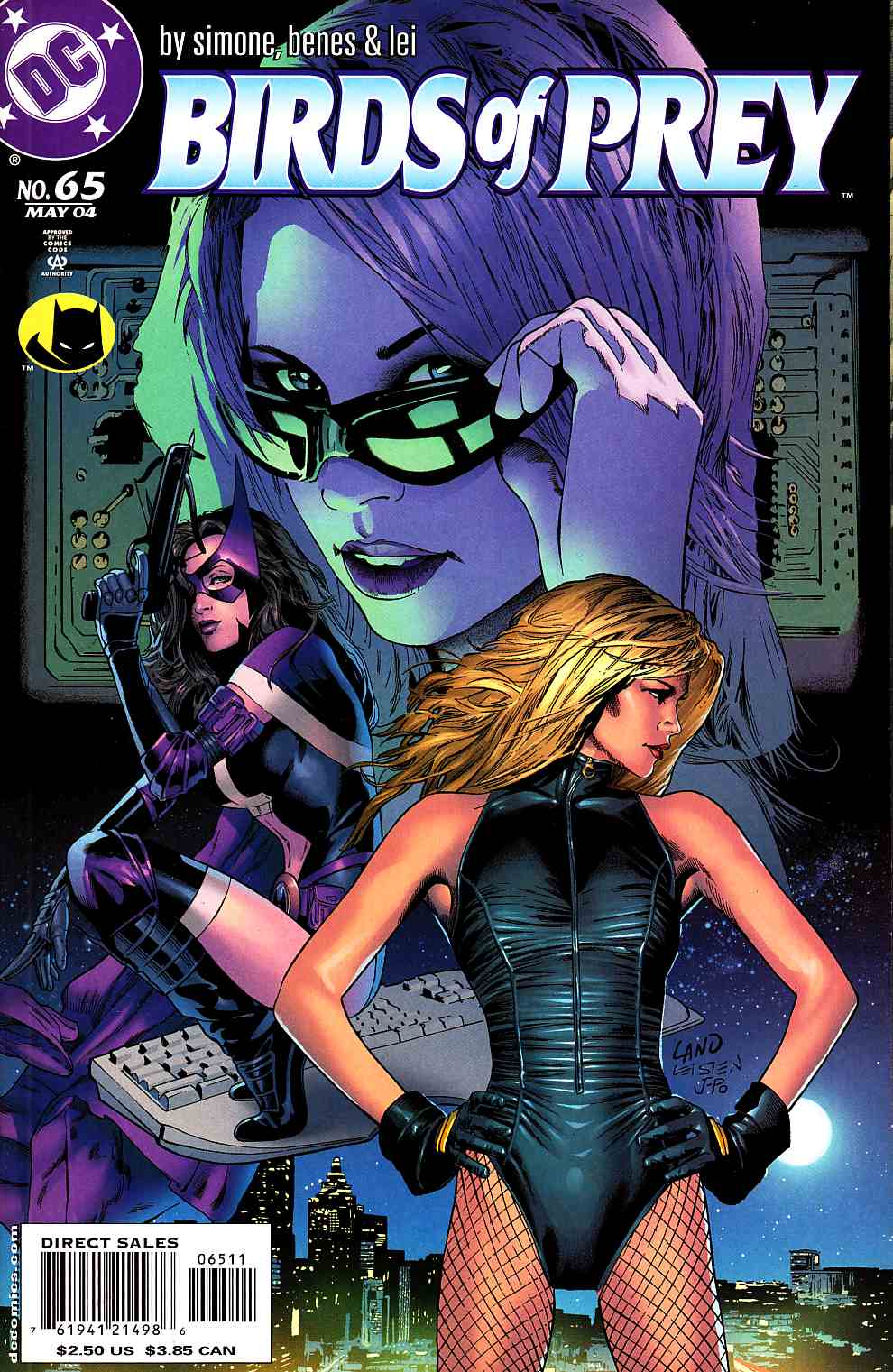 Birds of Prey #65 Near Mint (9.4) [DC Comic] LARGE