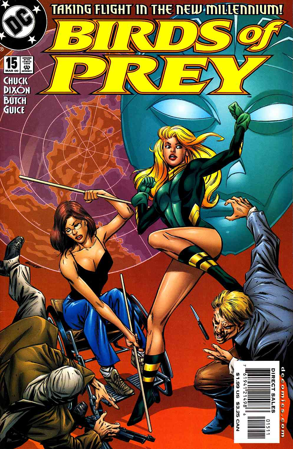 Birds Of Prey 15 Near Mint 9 4 Dc Comic Dreamlandcomics Com Online Store
