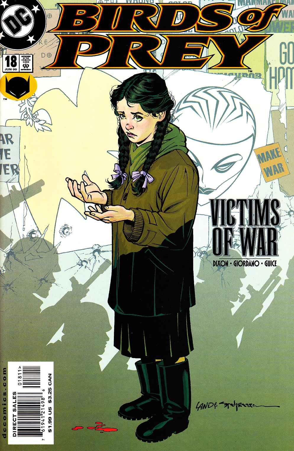 Birds of Prey #18 Near Mint (9.4) [DC Comic] THUMBNAIL