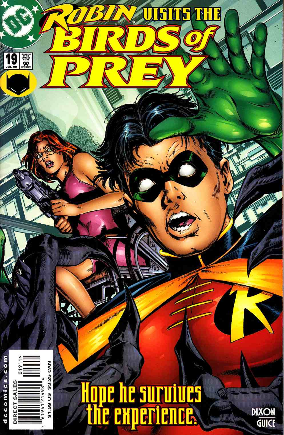 Birds of Prey #19 Near MInt (9.4) [DC Comic] THUMBNAIL