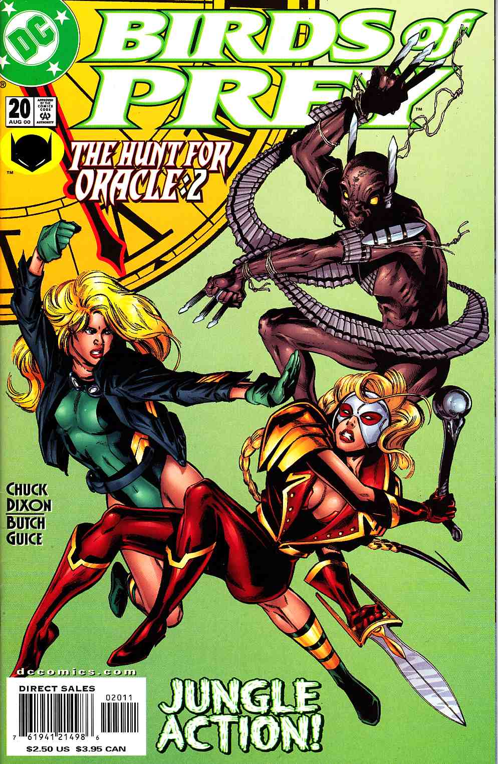 Birds of Prey #20 Near Mint (9.4) [DC Comic] THUMBNAIL