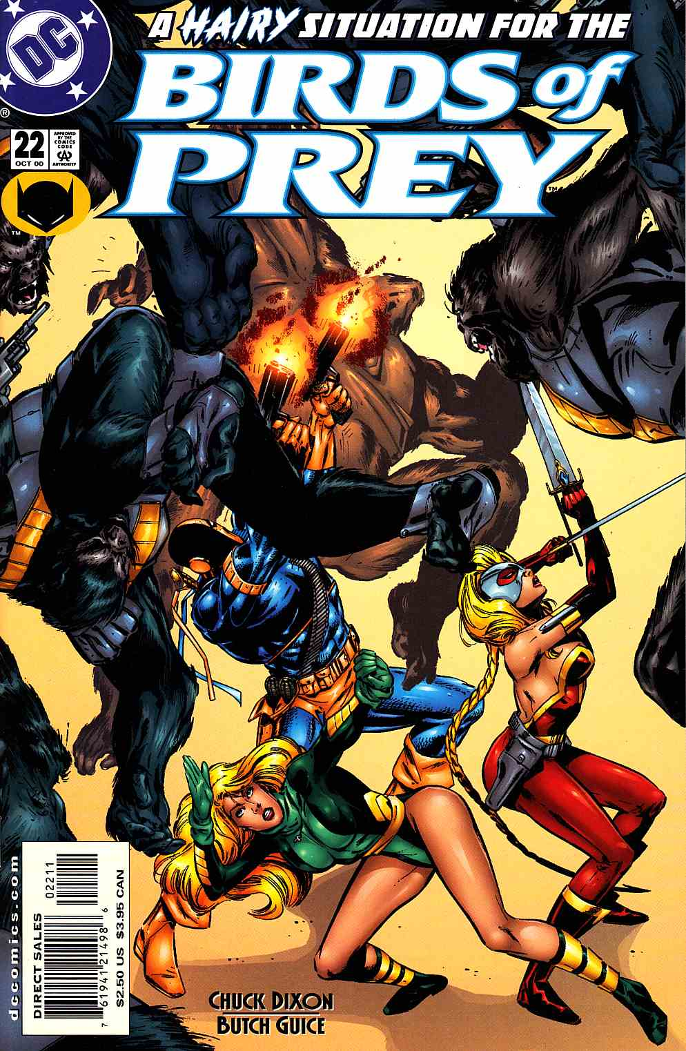 Birds of Prey #22 Near Mint (9.4) [DC Comic] THUMBNAIL