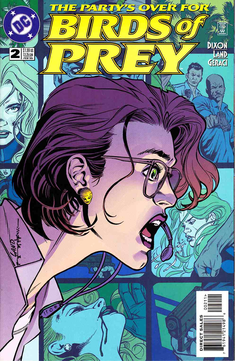 Birds of Prey #2 Near Mint (9.4) [DC Comic] LARGE