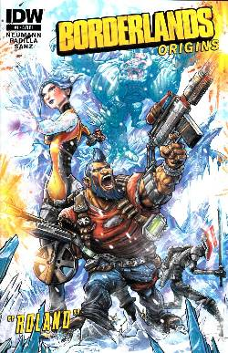 Borderlands Origins #1 Cover RI- Ray Dillion Incentive [Comic] LARGE