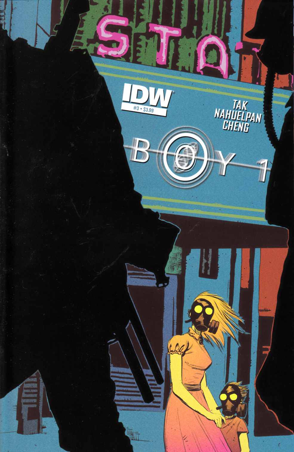 Boy-1 #3 [IDW Comic] LARGE