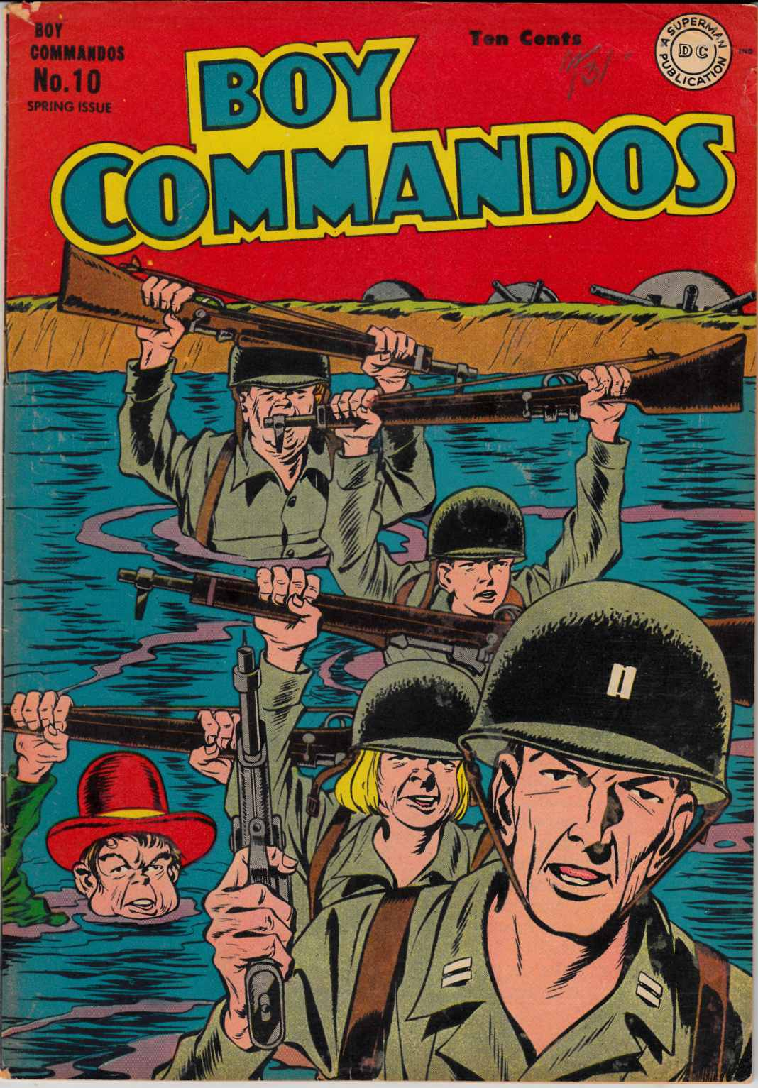 Boy Commandos #10 Very Good (4.0) Restored [DC Comic]_THUMBNAIL