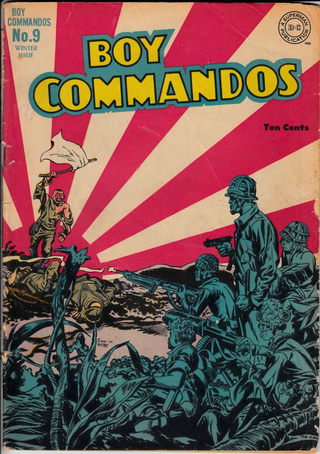 Boy Commandos #9 Good Very Good (3.0) [DC Comic]_THUMBNAIL