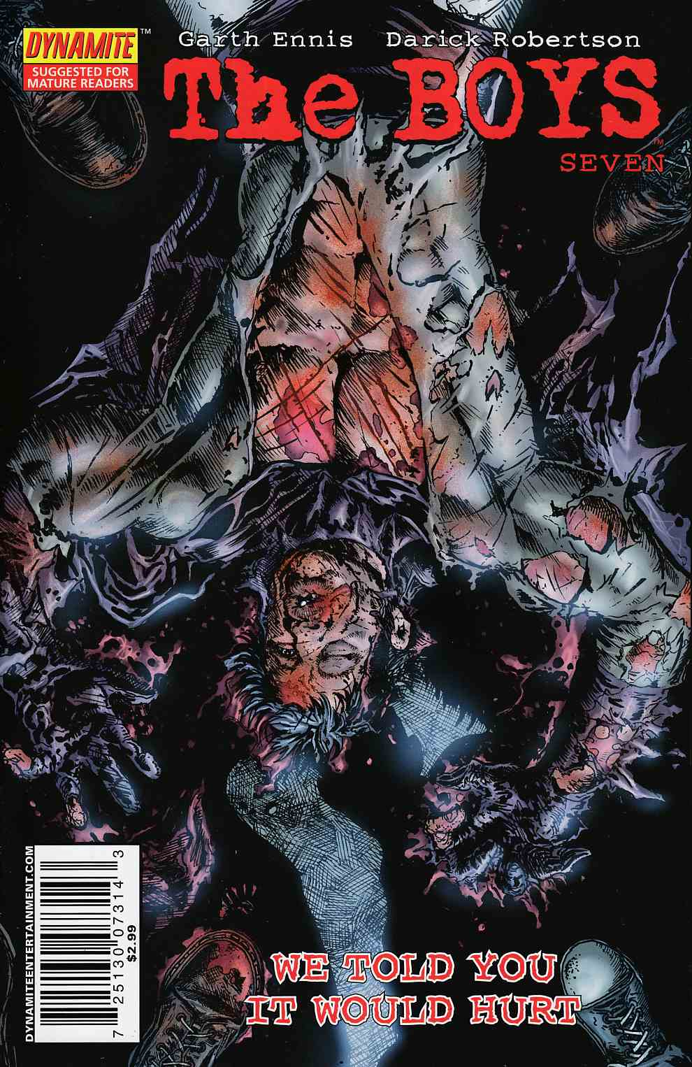 Boys #7 Cover B Near Mint (9.4) [Dynamite Comic] THUMBNAIL
