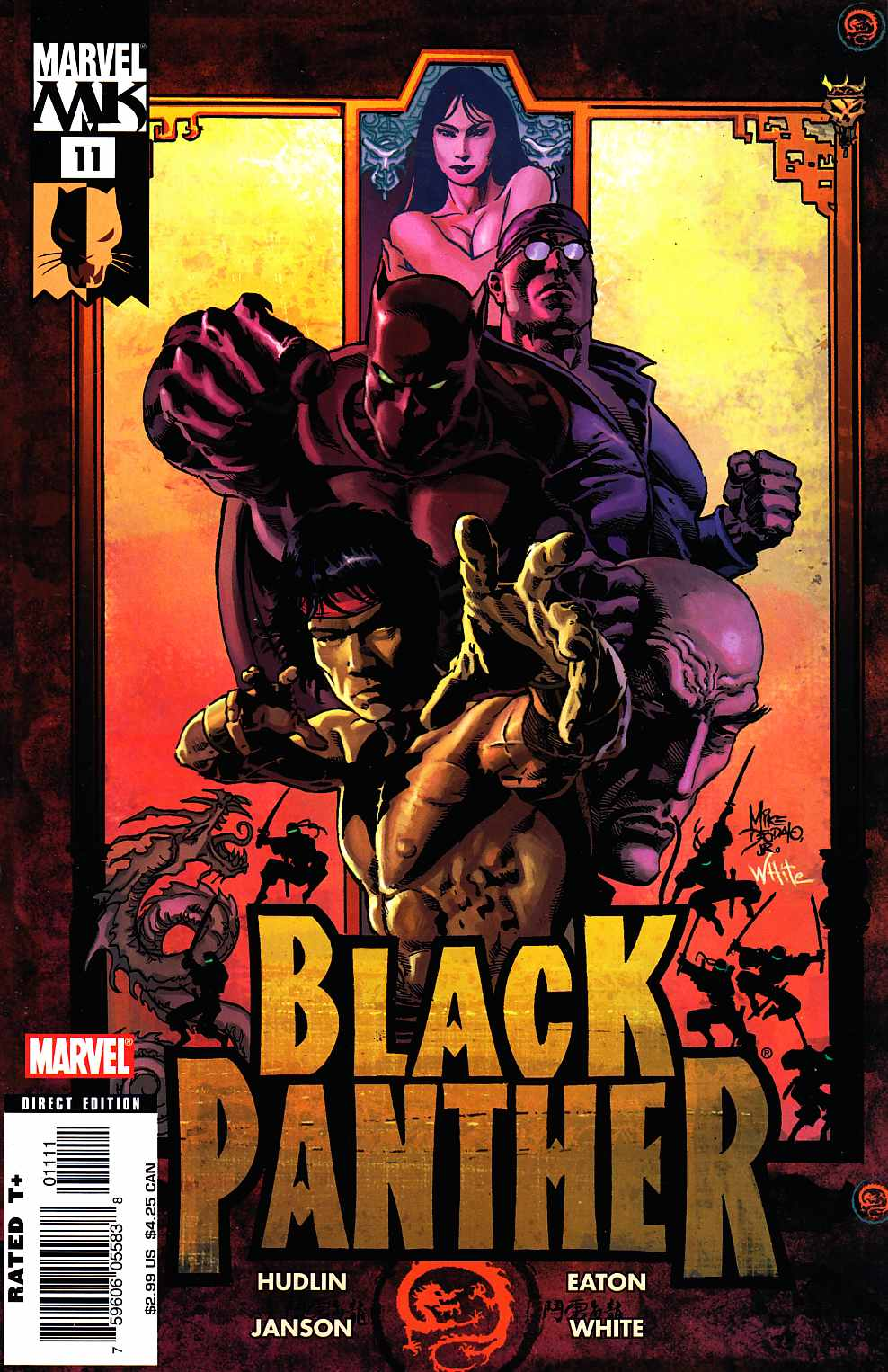 Black Panther #11 Near Mint (9.4) [Marvel Comic] THUMBNAIL