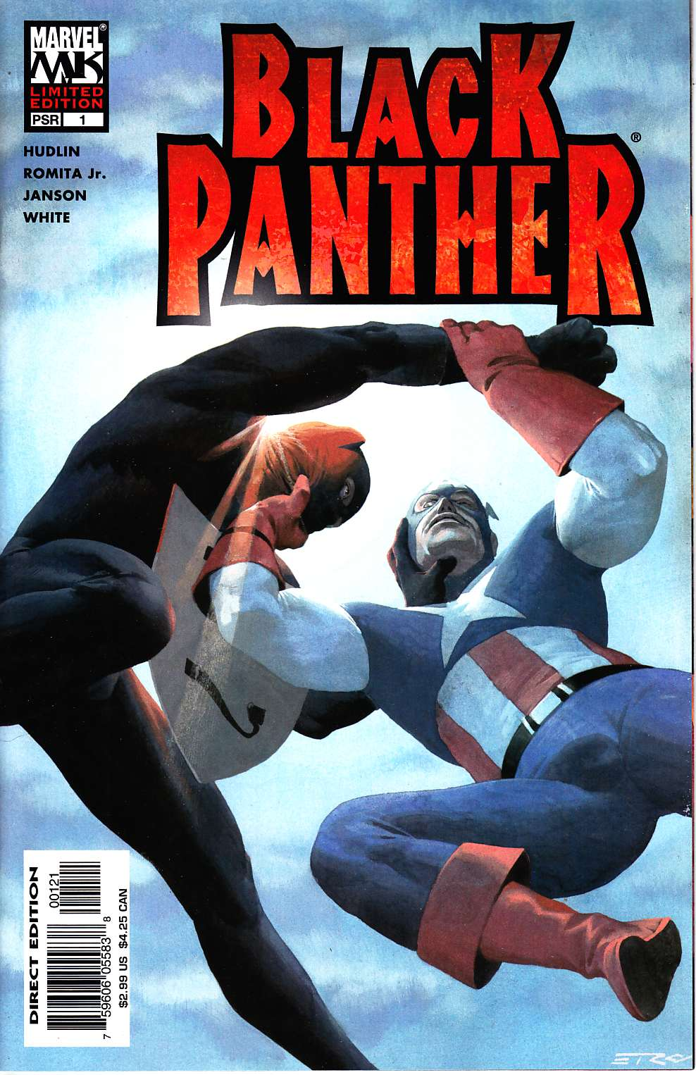 Black Panther #1 Cover B Near Mint (9.4) [Marvel Comic] THUMBNAIL