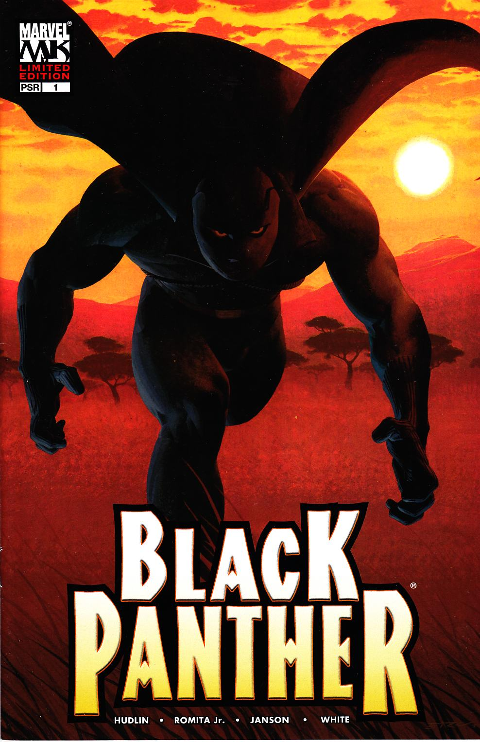 Black Panther #1 Limited Edition Variant Cover Near Mint (9.4) [Marvel Comic] THUMBNAIL