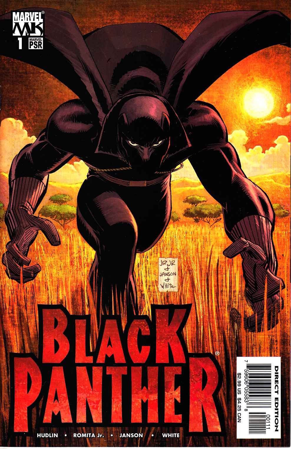 Black Panther #1 Near Mint (9.4) [Marvel Comic] THUMBNAIL