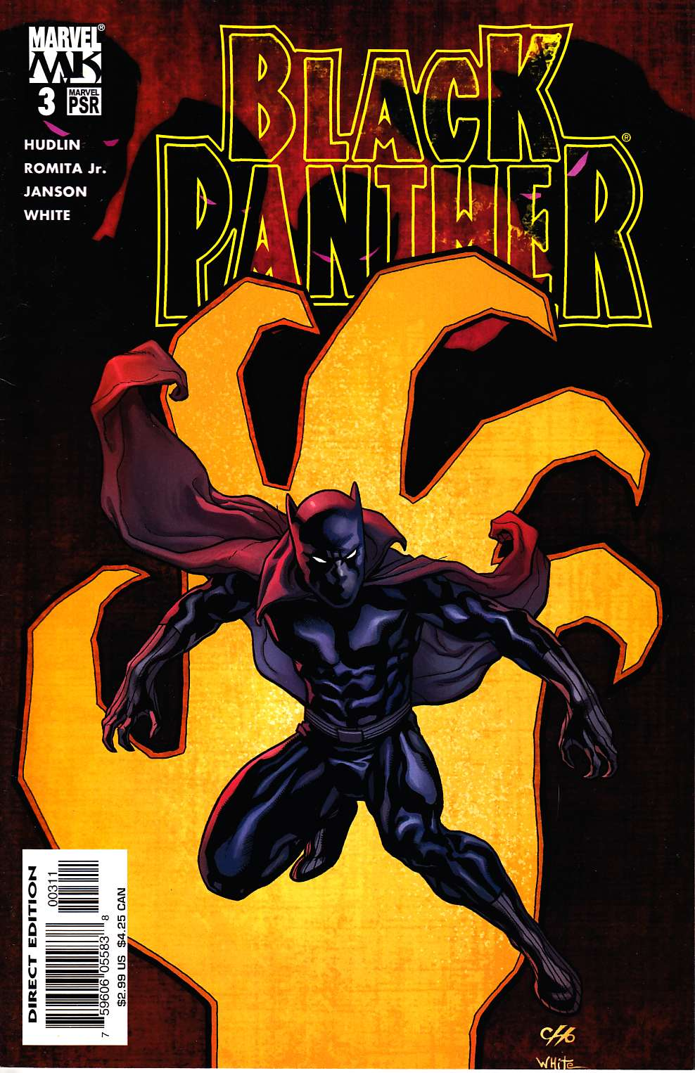 Black Panther #3 Near Mint Minus (9.2) [Marvel Comic] LARGE