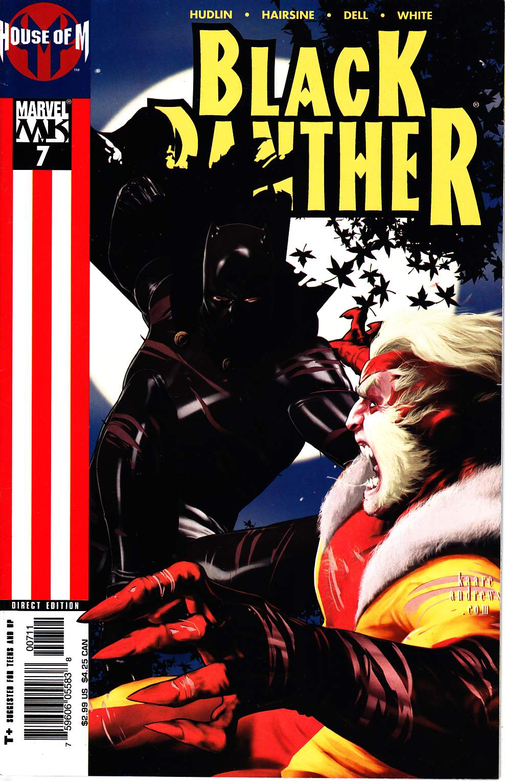 Black Panther #7 Near Mint (9.4) [Marvel Comic] THUMBNAIL