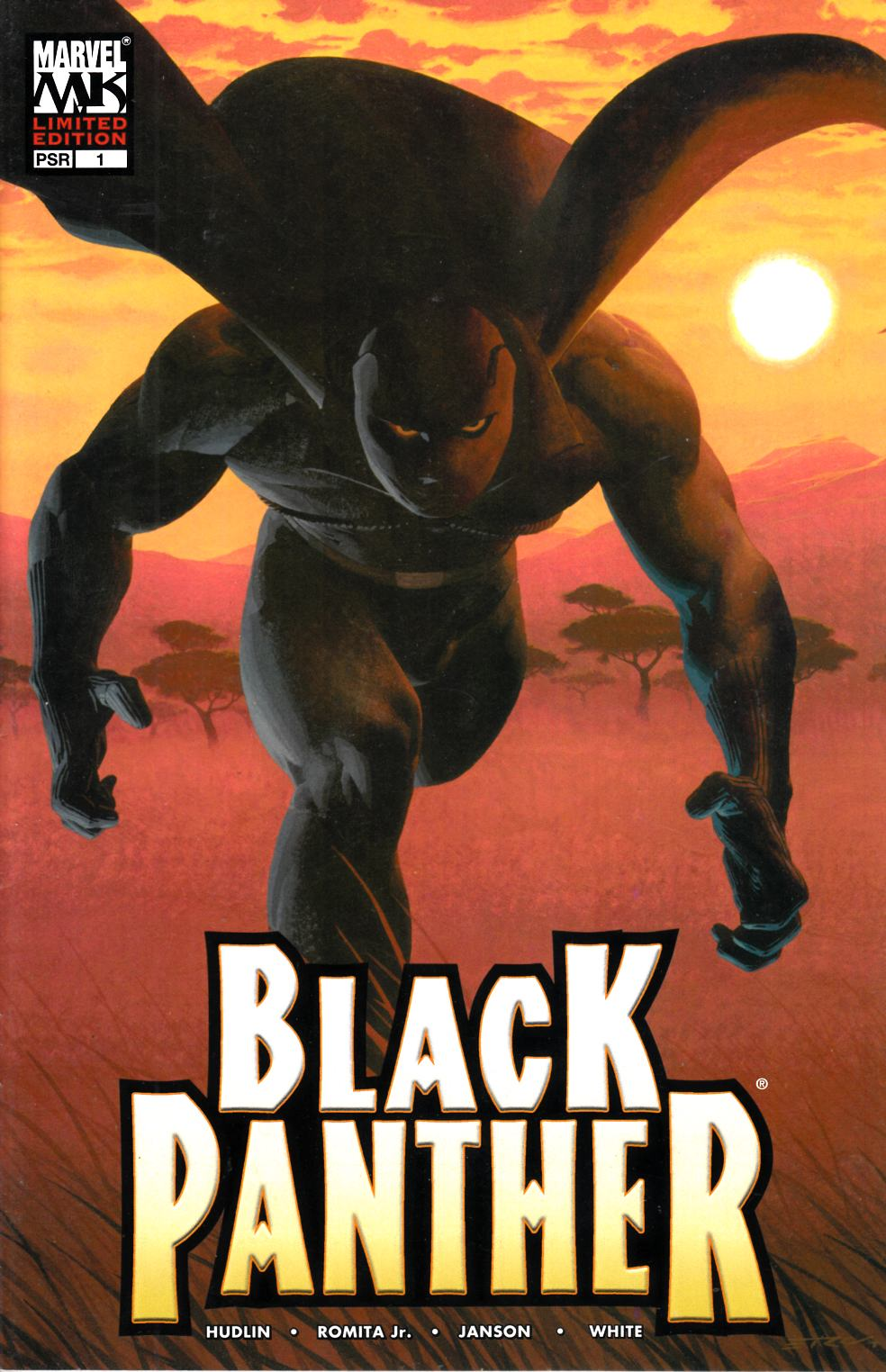 Black Panther #1 Limited Edition Variant Cover Very Fine (8.0) [Marvel Comic] THUMBNAIL