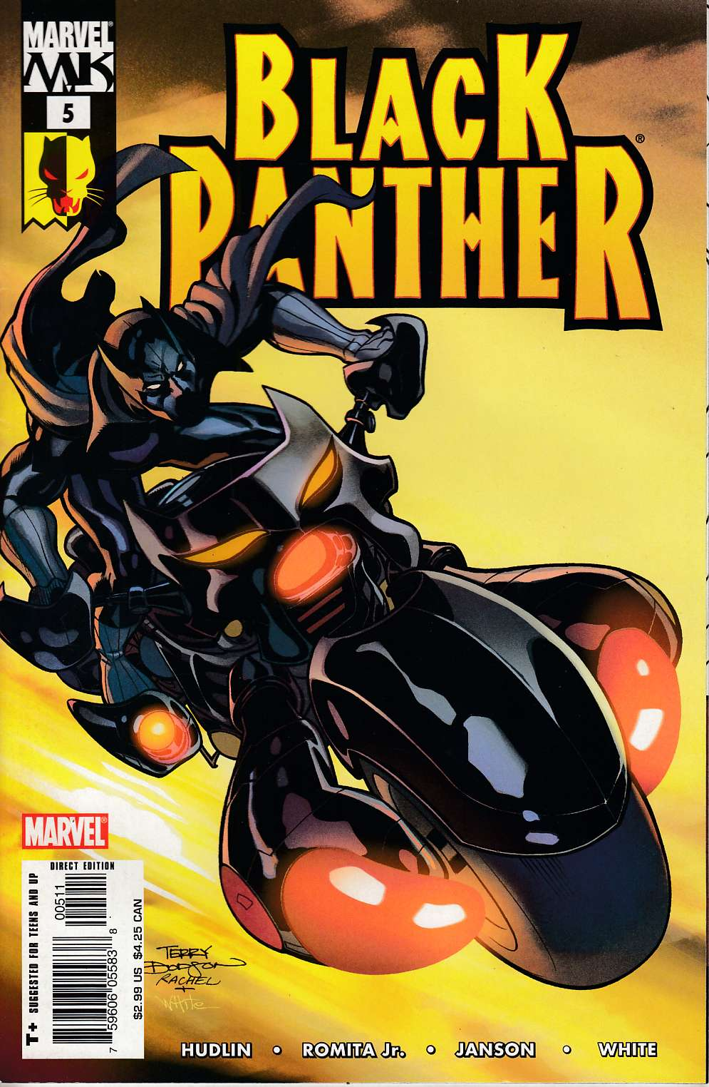 Black Panther #5 Very Fine (8.0) [Marvel Comic] THUMBNAIL