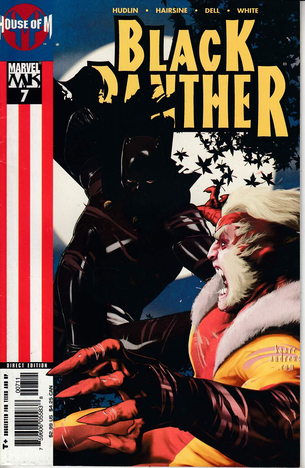 Black Panther #7 Very Fine (8.0) [Marvel Comic] LARGE