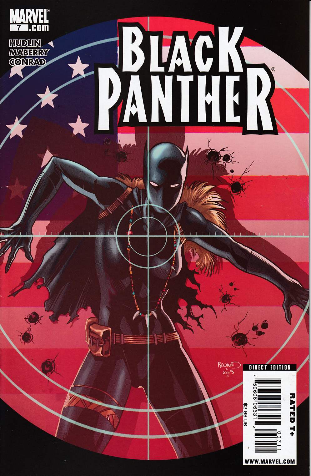 Black Panther #7 Very Fine Minus (7.5) [Marvel Comic] THUMBNAIL