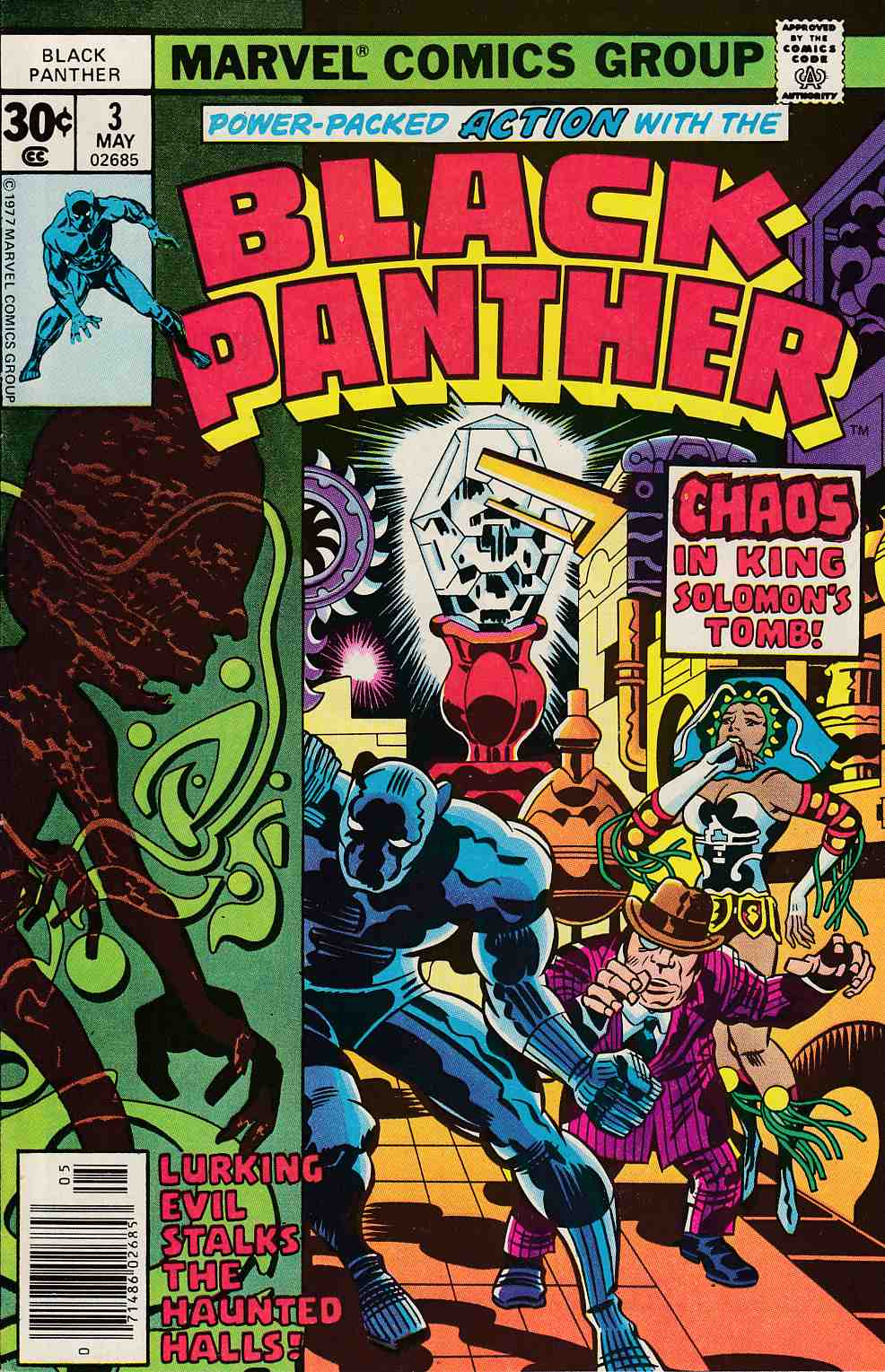 Black Panther #3 Very Fine (8.0) [Marvel Comic] THUMBNAIL