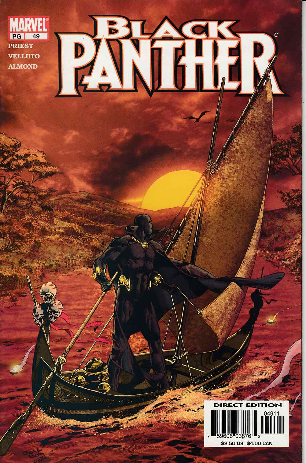 Black Panther #49 Near Mint (9.4) [Marvel Comic] LARGE