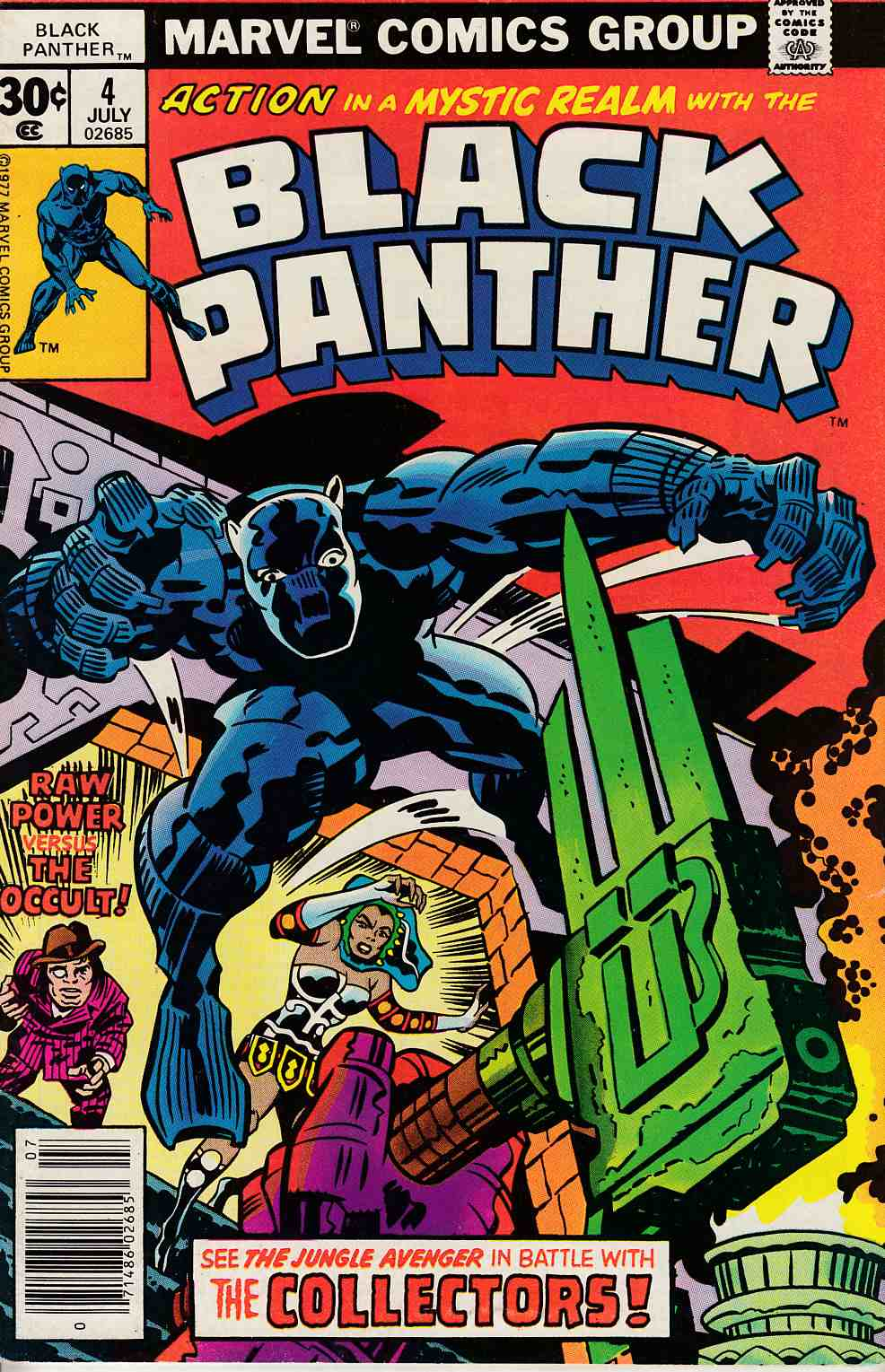 Black Panther #4 Very Fine Minus (7.5) [Marvel Comic] THUMBNAIL