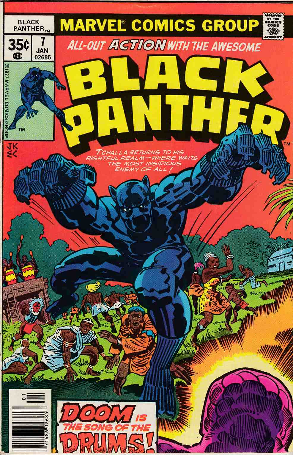Black Panther #7 Fine/Very Fine (7.0) [Marvel Comic] THUMBNAIL