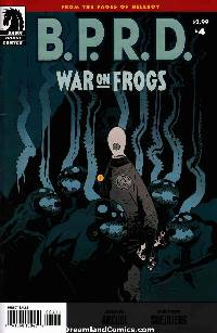 Bprd: war on frogs #4 LARGE