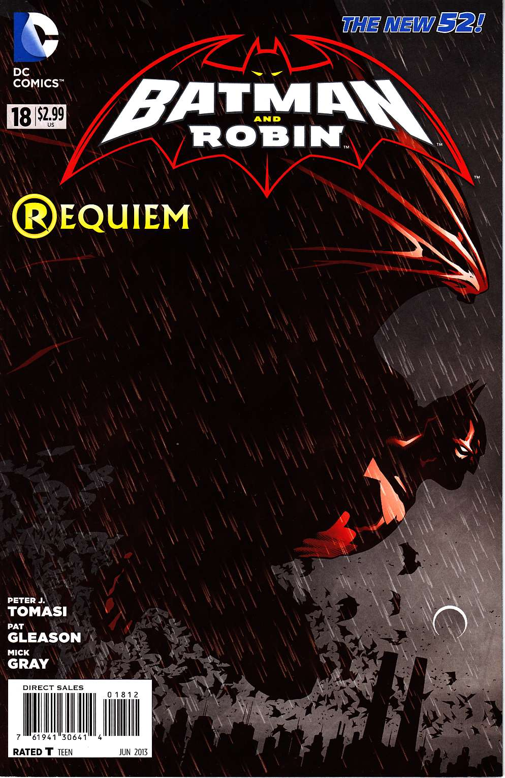 Batman and Robin #18 Second Printing [DC Comic] THUMBNAIL